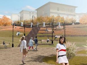 Новый пешеходный маршрут пройдет по Почаинскому бульвару