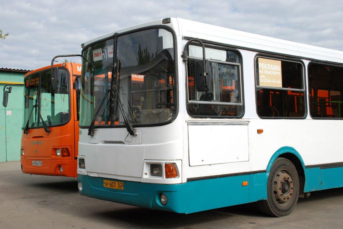 Движение нижегородских автобусов изменят из-за празднования Дня города