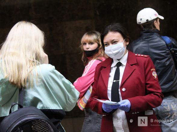 200 пассажиров нижегородского метро получили бесплатные маски - фото 22