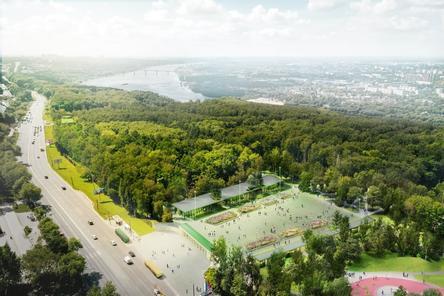 Разноуровневое освещение создадут в парке «Швейцария»