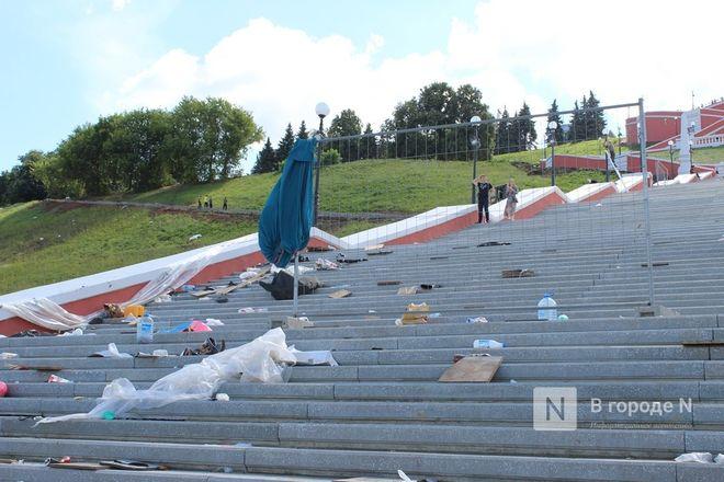 Чкаловскую лестницу открыли, несмотря на продолжающиеся ремонтные работы - фото 41