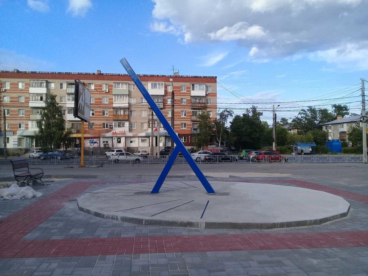 Жительница Дзержинска написала сатирическую оду солнечным часам - фото 1