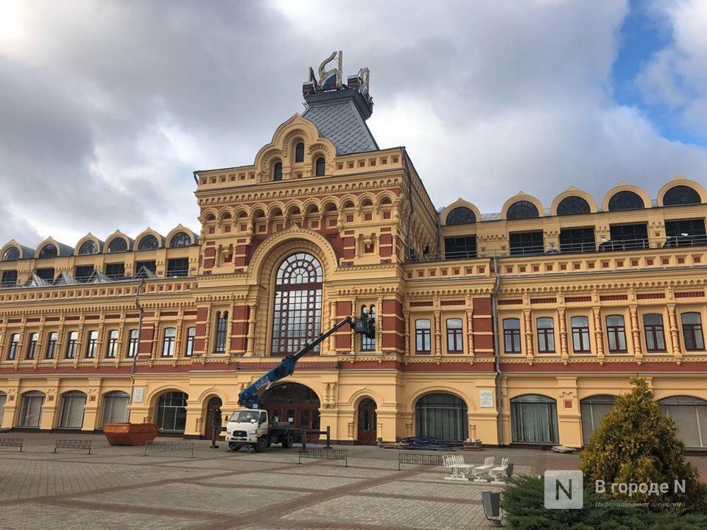 Новые выставочные павильоны планируется построить на Нижегородской ярмарке