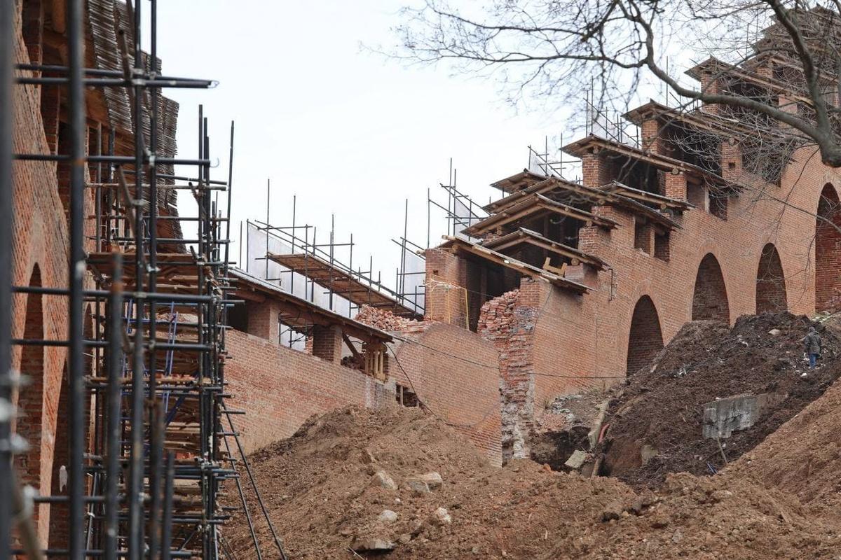 Реставрация Нижегородского кремля завершится к августу 2021 года - фото 1