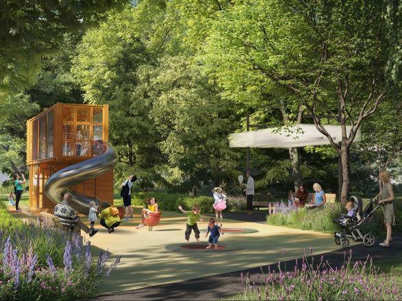 Индустриальные арт-объекты, скейт-парк и перголы: представлена итоговая концепция площади Героев - фото 4