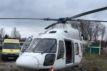 Выжившего при падении самолета мужчину перевезут в нижегородский ожоговый центр