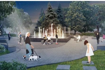«Поющий» фонтан появится на площади Маркина