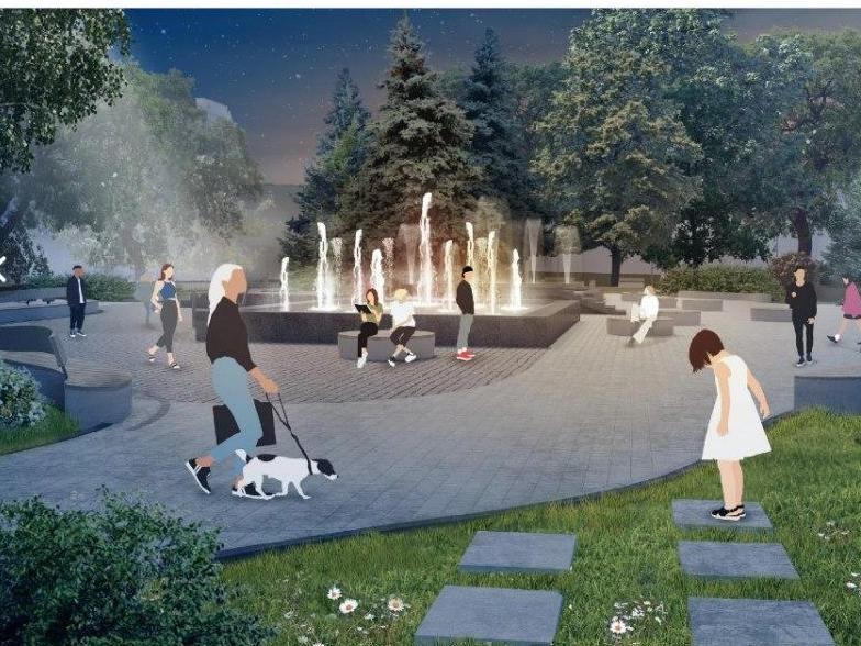«Поющий» фонтан появится на площади Маркина - фото 1