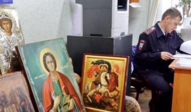 Украденные иконы из чувашского монастыря воры спрятали на недействующей нижегородской заправке - фото 1