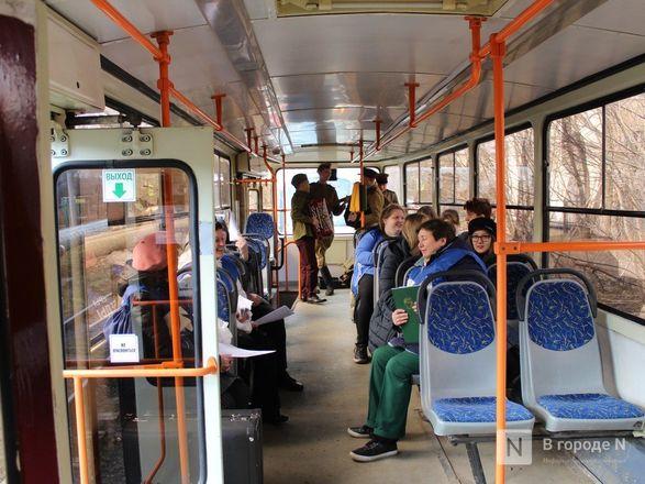 «Трамвай Победы» начал ходить по Нижнему Новгороду - фото 14